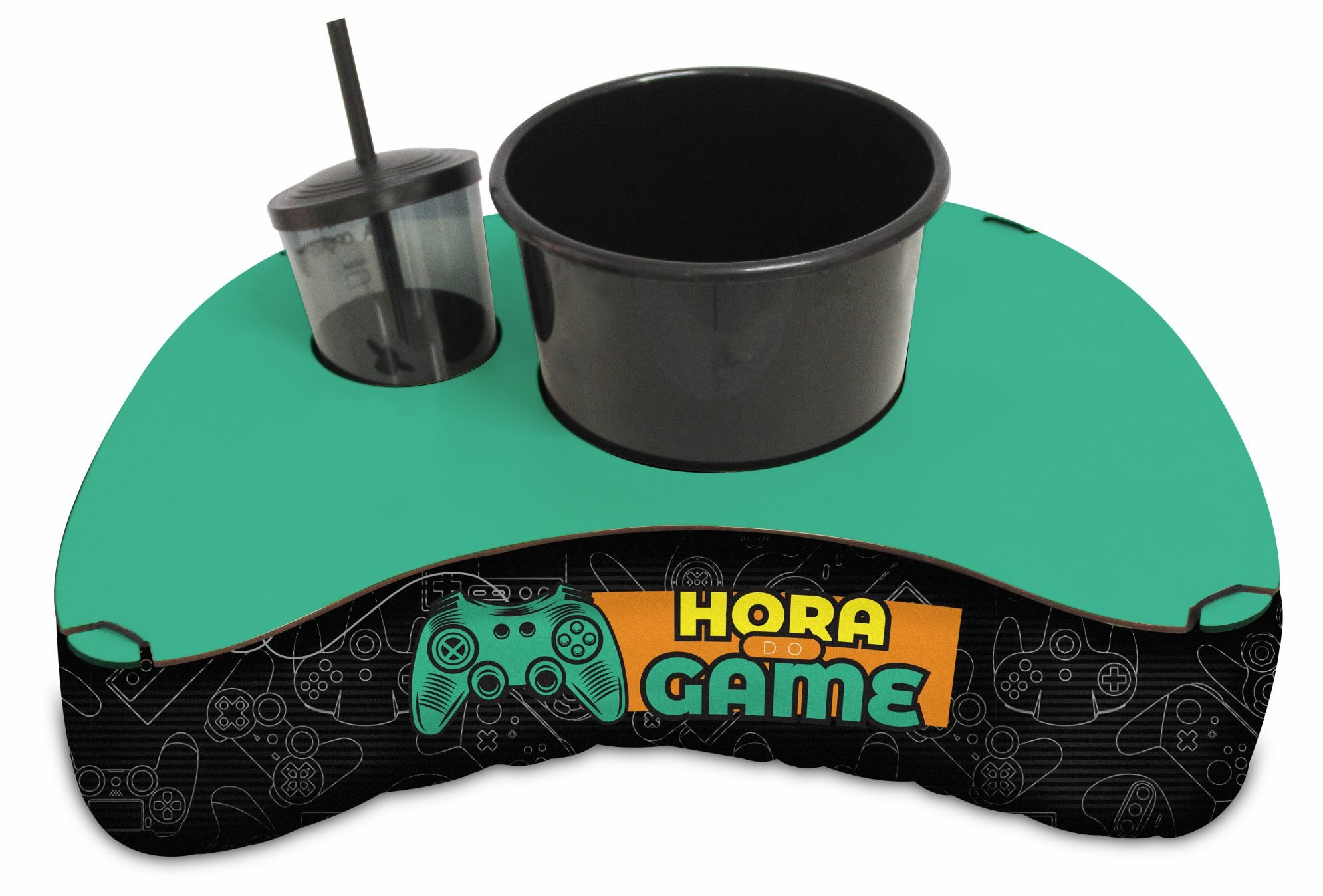 CONJUNTO PIPOCA - KIDS - HORA DO GAME