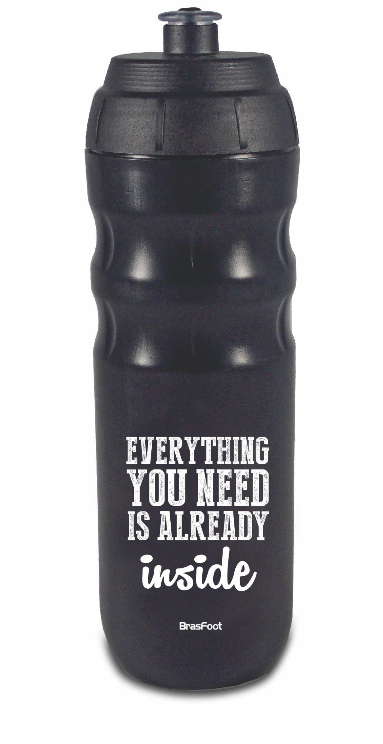 SQUEEZE TÉRMICA 550ML - FITNESS - EVERYTHING YOU NEED  PRETA
